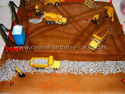 Birthday Decoration Ideas At Home For Boy Coolest Construction Cake Photos Web S Largest Homemade