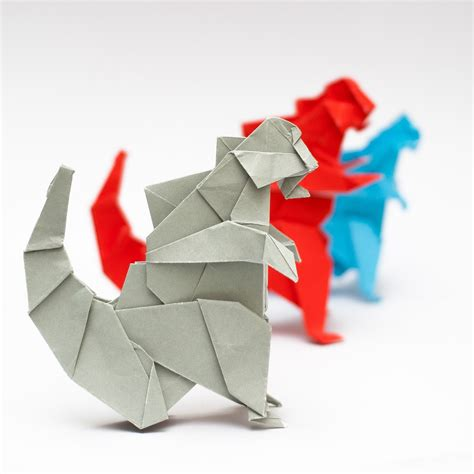 Origami Kaiju - how to make an origami godzilla 28 images origami