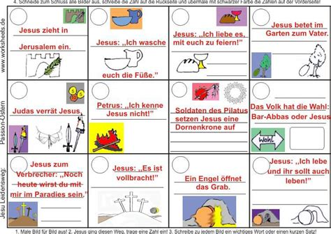 Bilder Lebenslauf Jesus Activity Worksheet Solution Leidensweg Aktivit 228 Tsarbeitsblatt