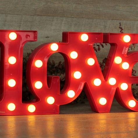 love letras decoracion letras love luminosas una boda original