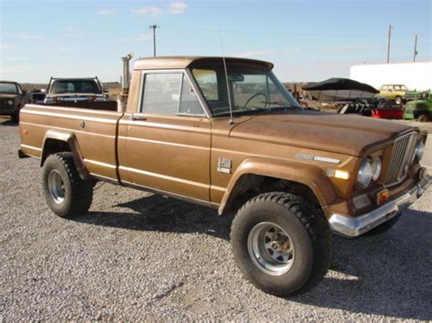 1970 jeep gladiator 1970 jeep j2000 gladiator 4 215 4 for sale