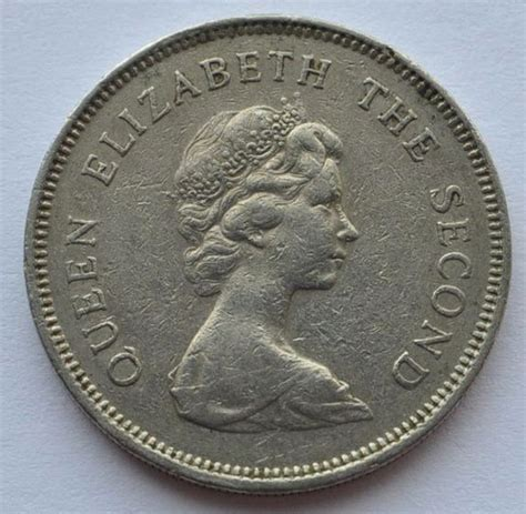 1979 uk britain hong kong 1 dollar coin vf ebay