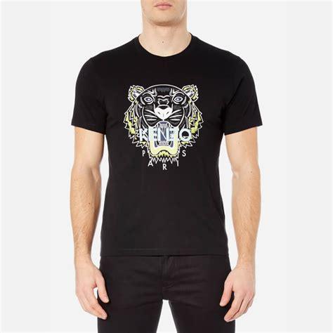 Tshirt Black Printed Dsvn kenzo s printed tiger t shirt black free uk delivery 163 50