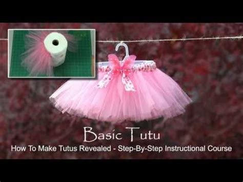 youtube tutorial tutu how to make a tutu with no sewing youtube