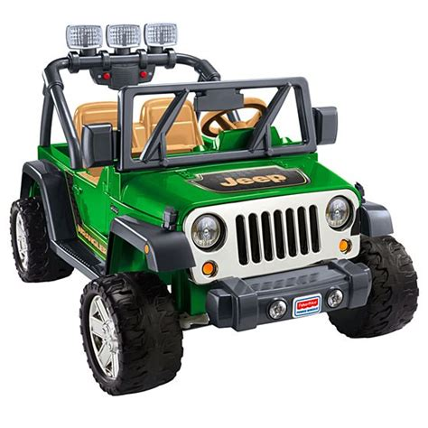 Power Wheels 174 Deluxe Jeep 174 Wrangler