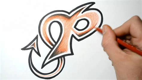 P Drawing Photo by Graffiti Letter P Sketch Tag Graffiti Printables Free