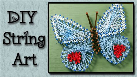 String Arts And Crafts - easymeworld string tutorial an easy craft for