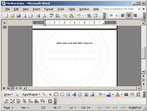 Tutorial Php Word | php word word application page breaking