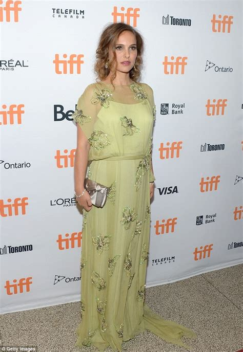 Nathalie Dress natalie portman looks in sheer dress at