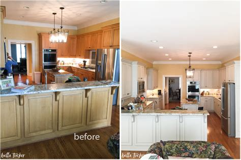 painted kitchen cabinets before and after ktrdecor