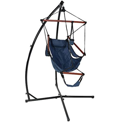 sunnydaze durable x stand and hanging hammock chair set