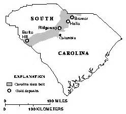gold maps carolina usgs programs in south carolina