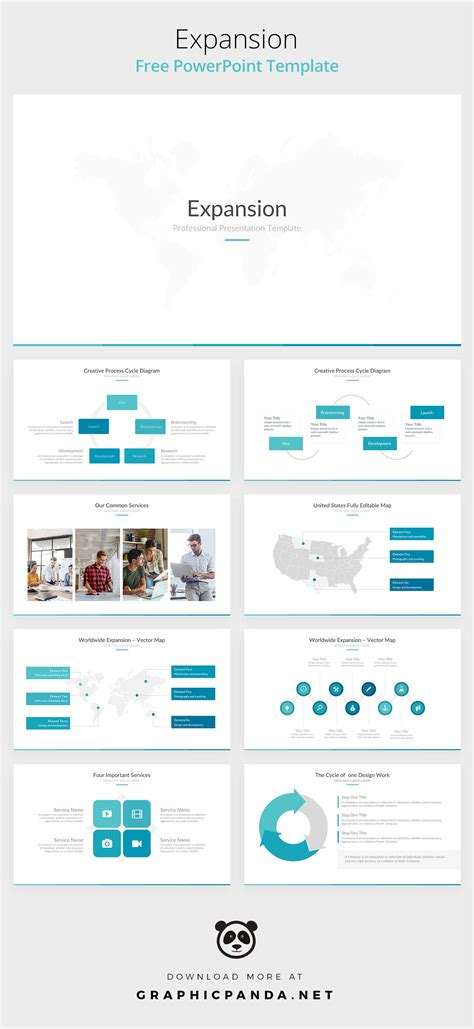 well designed powerpoint templates free expansion powerpoint template on behance