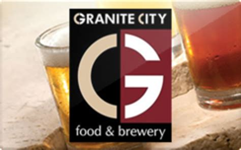 Granite City Gift Card - sell granite city food brewery gift cards raise