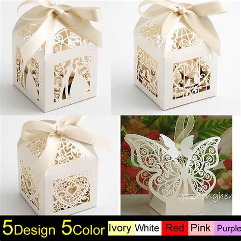 wedding cake gift boxes 1 100pcs luxury wedding cake gift