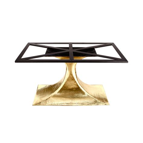 Brass Dining Table Base Stockholm Brass Oval Dining Table Base Pairs With 95 Quot Top Sold Separately Brass Bungalow 5