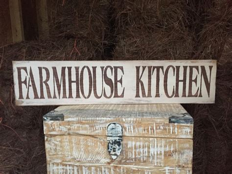 60 Diy Rustic Farmhouse Kitchen Large Rustic Wood Sign Quot Farmhouse Kitchen Quot Fixer