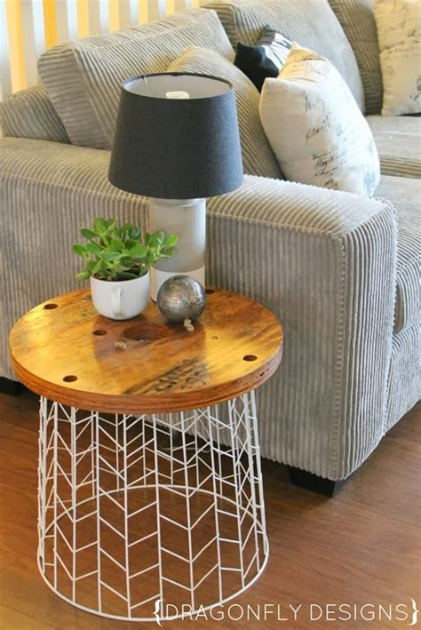 side table ideas diy accent table tutorial 187 dragonfly designs