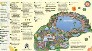 Epcot World Showcase Map by Epcot World Showcase Map Images