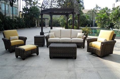 Outdoor Living Patio Furniture Outdoor Living Space How To Improve Your Own Palm Casual