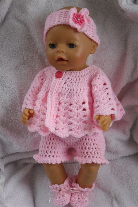 crochet pattern doll clothes 42 best doll clothes pattern images on pinterest baby