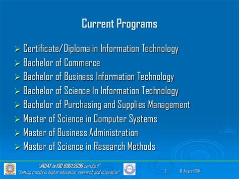 Jkuat Mba Course Structure by 2014 E Learning Innovations Conference Jkuat Sodel Fred