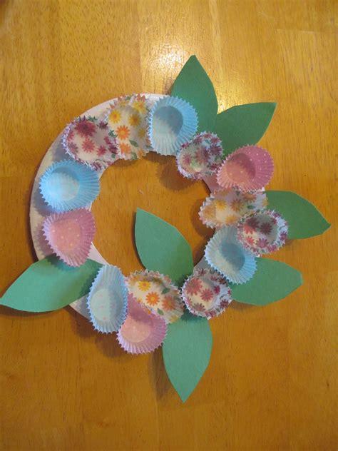 springtime crafts for wreath craft for let their light shine