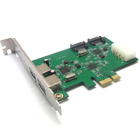 Usb Card Pci Express pci e x1 slot combo usb 3 0 sata iii v2 0 pci express