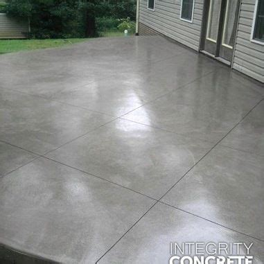 Smooth Concrete Patio by The World S Catalog Of Ideas
