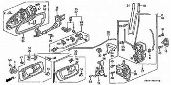 how to replace door lock actuator in a 99 honda tech