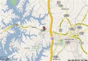 map of 8 motel mooresville lake norman area mooresville