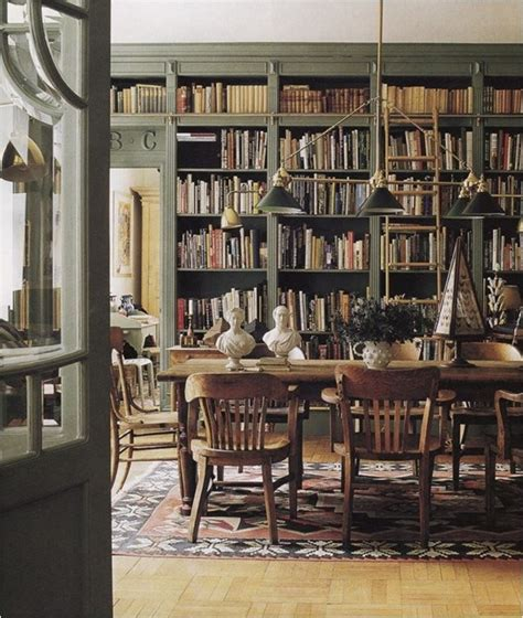 Dining Room Bookshelves Design Crush Dine In Libraries Centsational