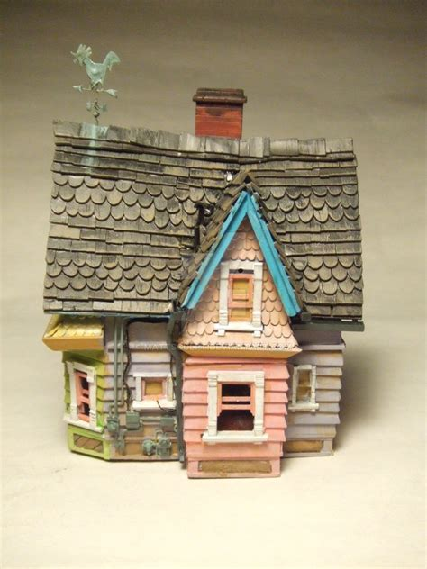 pixar disney s up house model by mattsculpt on deviantart