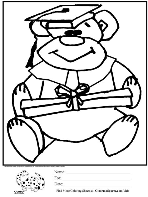 coloring pages for preschool graduation kindergarten graduation coloring pages az coloring pages