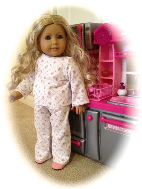 Free Patterns American Girl Doll | atwp american girl doll pj s pattern