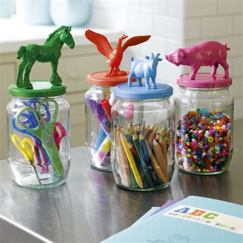 crafts with glass jars children s room storage ideas housetohome co uk