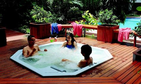 Landscaping Tips And Tricks Top Rated Outdoor Jacuzzi Design Ideas With Excellent Tips