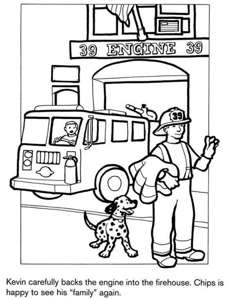 firefighter coloring pages firefighter coloring page truck