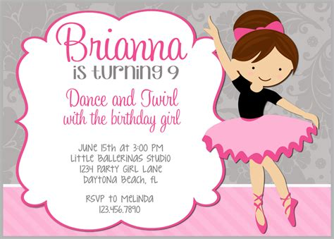 Contoh Invitation Letter Tentang Birthday 11 beautiful contoh invitation card birthday