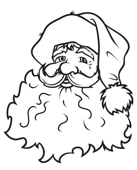 turkey claus coloring page download face of santa claus coloring pages or print face