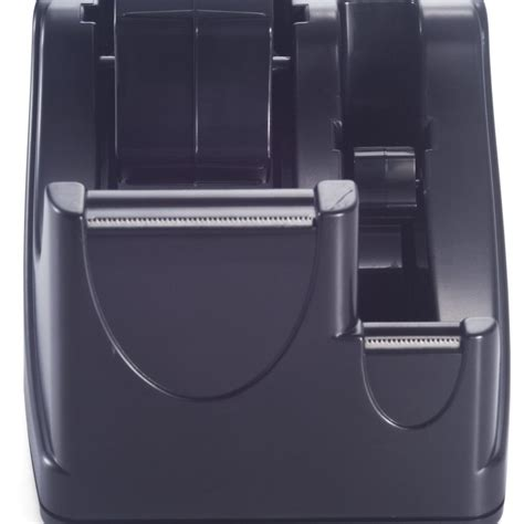Dispenser Sharp officemate recycled 2 in 1 heavy duty dispenser black