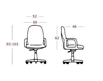 Kursi Kantor Lufo lufo office chair l 850 lufo office furniture