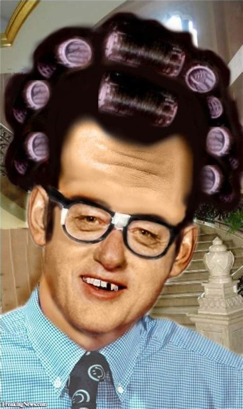 image gallery his hair in curlers bill clinton the nerd wearing curlers in his hair pictures