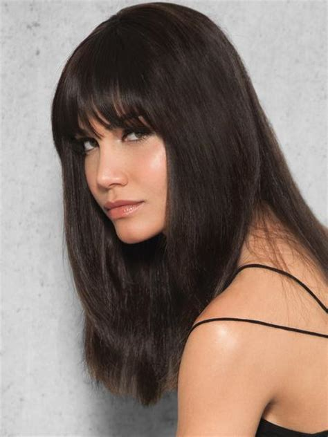 human hair fringe extensions clip in human hair fringe by hairdo wigs the