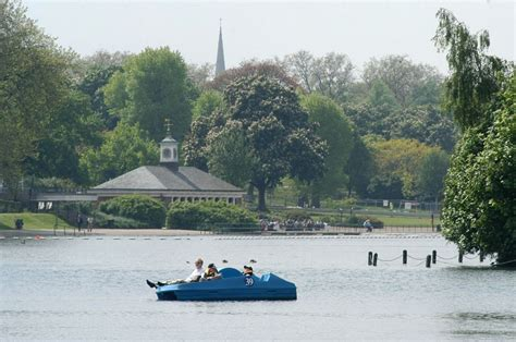 pedal boat in hyde park hyde park hyde park the royal parks