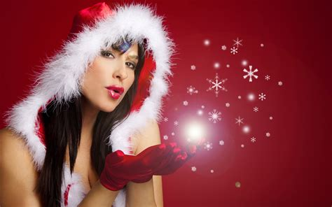 christmas girls merry christmas  happy  year desktop hd wallpapers  mobile phones