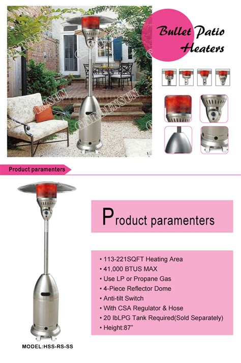 stand up propane patio heater electric mulled wine infrared propane patio heaters stand
