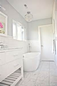 Best Bathroom Paint Colors Benjamin Moore Benjamin Moore Sidewalk Gray In A Bathroom With Marble