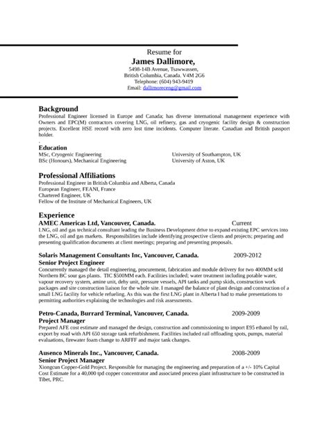 resume format for project engineer clean project engineer resume template