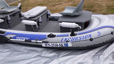 inflatable boat mods intex excursion 5 modifications overview youtube